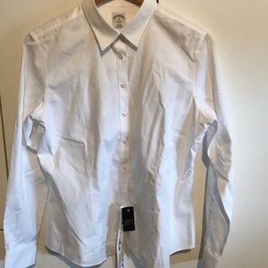 Brooks Brother Button Up Light White.